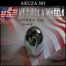 AKUZA 383 CHROME CAP For Orca  Wheels     PANTHER  AKUZA CAPS