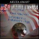 AKUZA  CAP 436/437  EMR CHROME CAP FOR BELLE OR OJ WHEELS