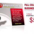 Business Cards 1000 CARD STOCK