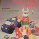 PLASTIC CANVAS PATTERN BOOK vintage 13 toys puzzles learning easy projects truck