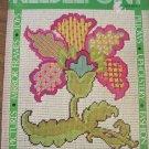NEEDLEPOINT PATTERN BOOK 48 vintage designs dog flower bargello madonna sampler