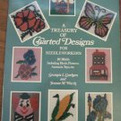 TREASURY CHARTED DESIGNS PATTERNS needlework needlepoint plastic canvas birds +