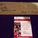 BROOKS ROBINSON Signed Check Auto Baltimore Orioles PSA/DNA Certified Autograph