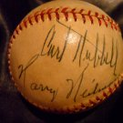 Harry Heilmann PSA Authenticated and Autographed Baseball - VERY RARE