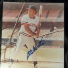 Milwaukee Braves EDDIE MATHEWS Auto Signed 8x10 PSA / DNA