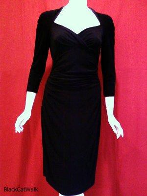 *NWT* ANNE KLEIN BLACK SWEETHEART DRESS - SIZE 6