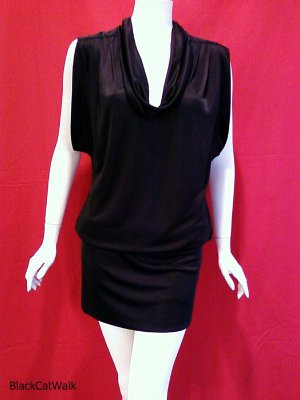 BCBG MAX AZRIA Black Mini Dress - Size Medium