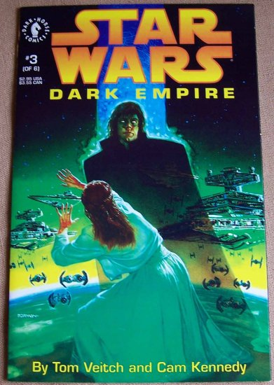 Star Wars Dark Empire Comic Book - No. 3 - April 1992