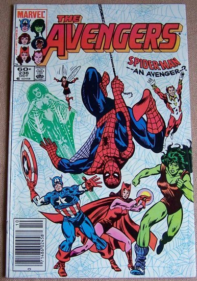 The Avengers Comic Book - No. 236 - October 1983