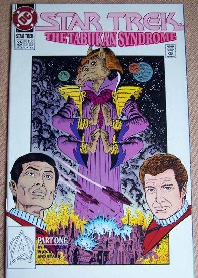 Star Trek The Tabukan Syndrome Comic Book - Part One No. 35 - September 1992