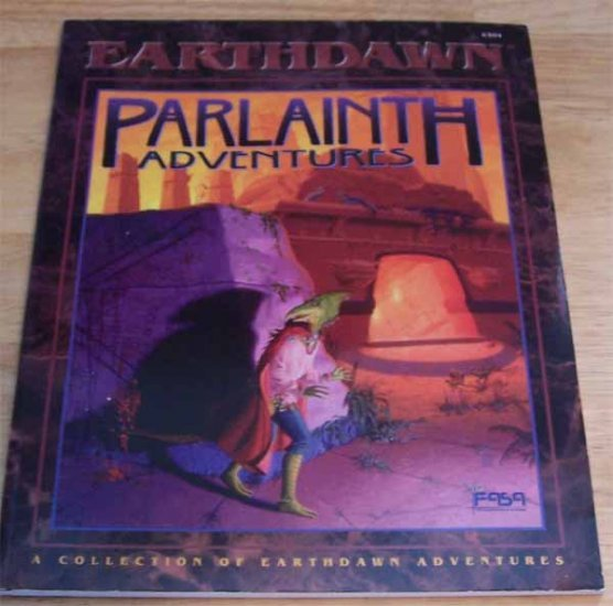Earthdawn Parlainth Adventures 6304 Softcover Book