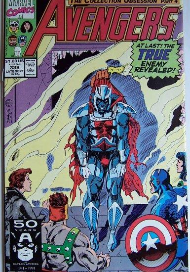 Avengers Comic Book - No. 338 - September 1991