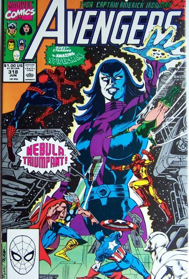 Avengers Comic Book - No. 318 - June 1990