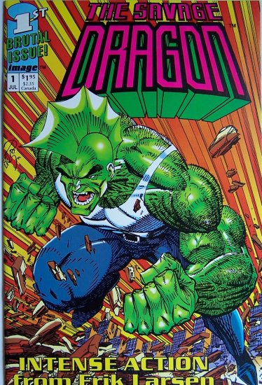 The Savage Dragon Comic Book - No. 1 - July 1992 First Printing
