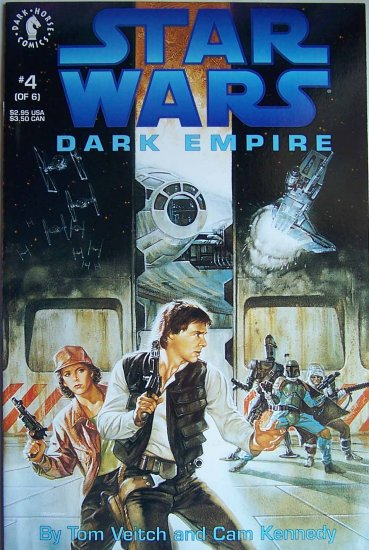 Star Wars Dark Empire Comic Book - No. 4 - April 1992