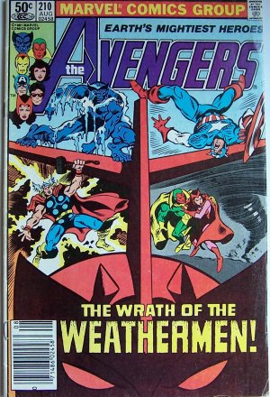 The Avengers Comic Book - No. 210 - August 1981