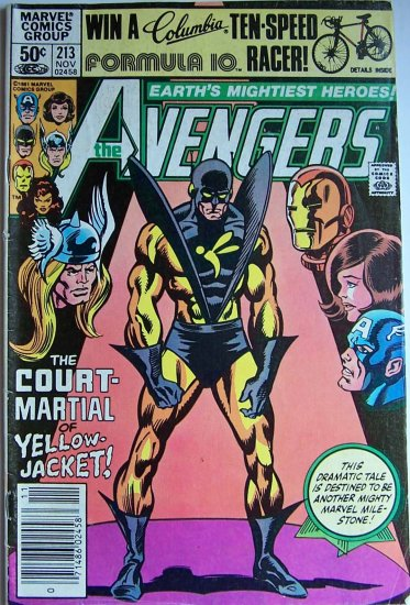 The Avengers Comic Book - No. 213 - November 1981