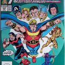 The Avengers Comic Book - No. 302 - April 1989