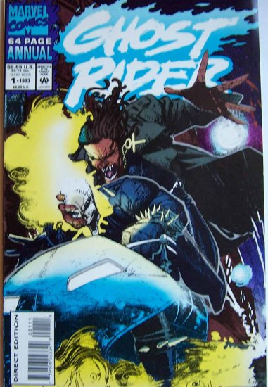Ghost Rider Comic Book - Annual No. 1 - September 1993
