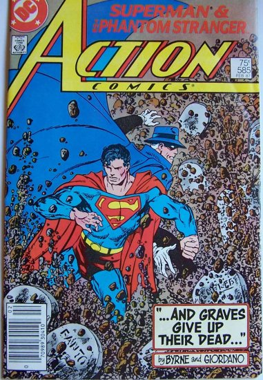 Action Comics Comic Book - No. 585 - February 1987