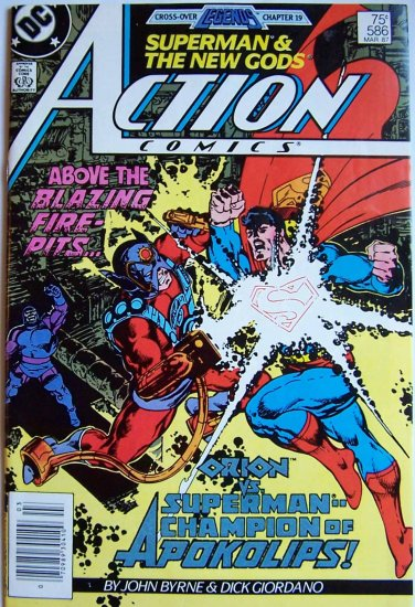 Action Comics Comic Book - No. 586 - March 1987