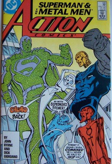 Action Comics Comic Book - No. 590 - July 1987