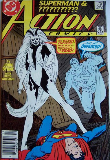 Action Comics Comic Book - No. 595 - December 1987