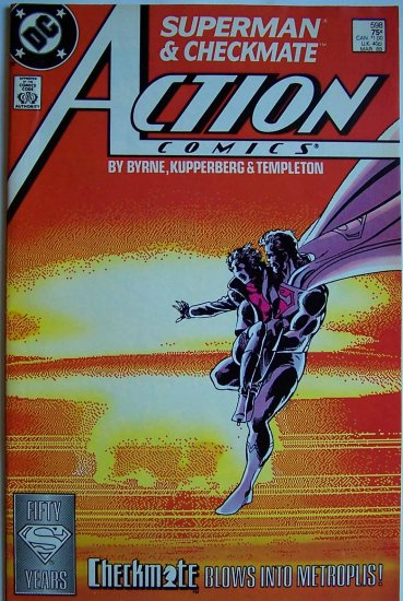 Action Comics Comic Book - No. 598 - March 1988