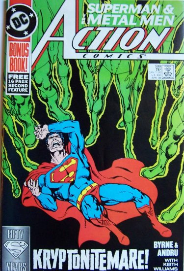 Action Comics Comic Book - No. 599 - April 1988