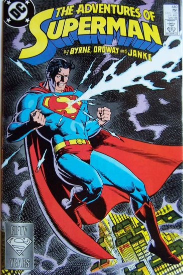 The Adventures of Superman Comic Book No. 440 - May 1988