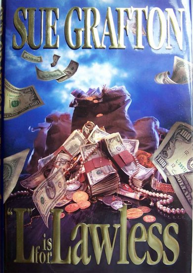 L Is for Lawless by Sue Grafton Hardcover Book