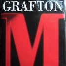 M Is for Malice by Sue Grafton Hardcover Book