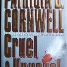Cruel and Unusual by Patricia Cornwell Hardcover Book
