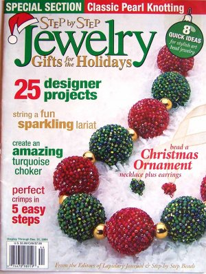 Step by Step Jewelry Magazine - December 2004