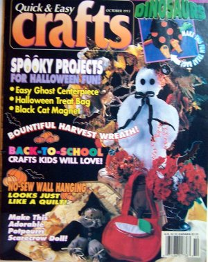 Quick and Easy Crafts - October 1993