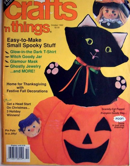 Crafts 'n Things Magazine - October 1992