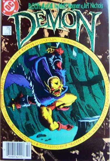 Demon Comic Book - No. 2 - Book 4 of 4 - February 1987
