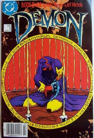 Demon Comic Book - No. 3 - Book 3 of 4 - March 1987