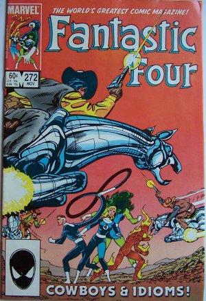 Fantastic Four Comic Book - No. 272 - November 1984