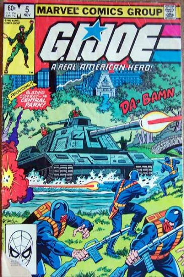G.I. Joe Comic Book - No. 5 - November 1982