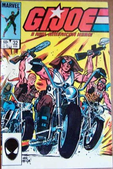 G.I. Joe Comic Book - No. 32 - February 1985