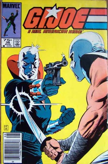 G.I. Joe Comic Book - No. 38 - August 1985