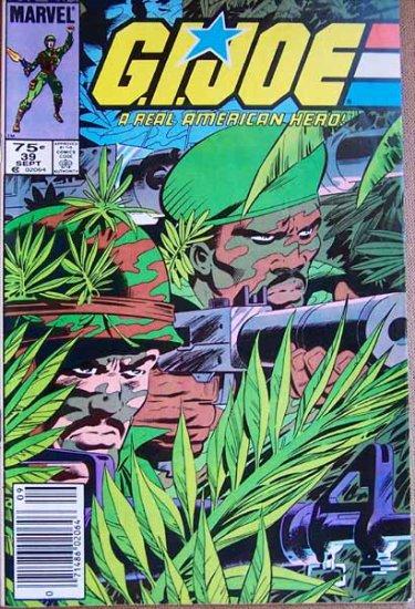 G.I. Joe Comic Book - No. 39 - September 1985