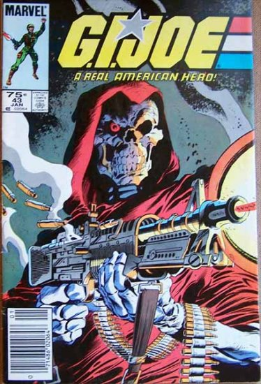 G.I. Joe Comic Book - No. 43 - January 1986