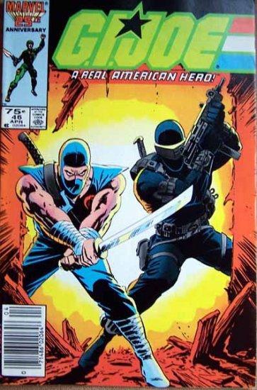 G.I. Joe Comic Book - No. 46 - April 1986