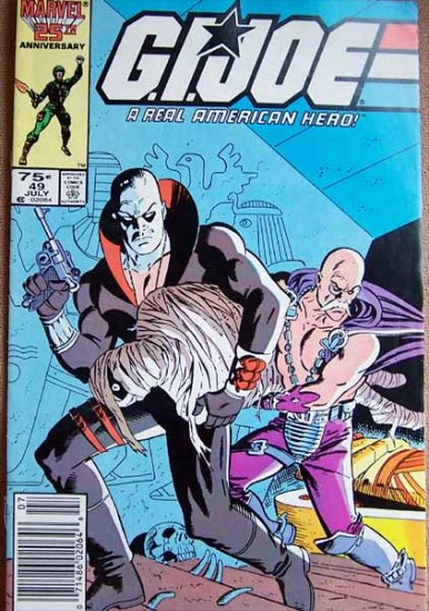 G.I. Joe Comic Book - No. 49 - July 1986