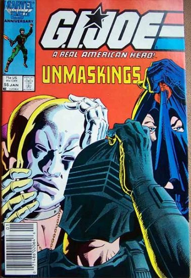 G.I. Joe Comic Book - No. 55 - January 1987