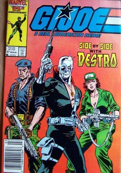G.I. Joe Comic Book - No. 57 - March 1987