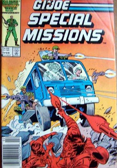 G.I. Joe Special Missions Comic Book - No. 3 - February 1987
