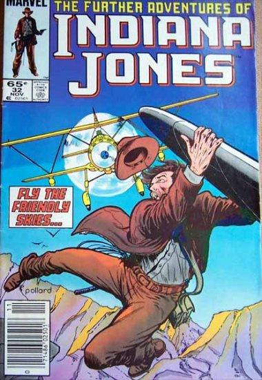 The Further Adventures of Indiana Jones Comic Book - No. 32 - November 1985